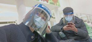 新手搭飛機防疫面罩
