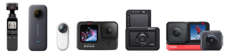 【2021】10款運動攝影機推薦,第二款非常適合新手 Vlogger!